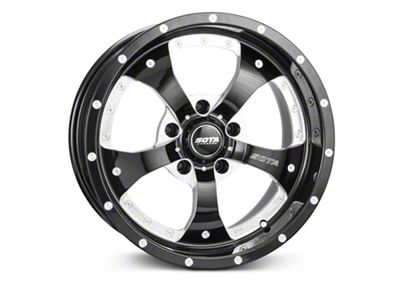 SOTA Off Road Novakane Death Metal Wheels (07-18 Jeep Wrangler JK; 2018 Jeep Wrangler JL)