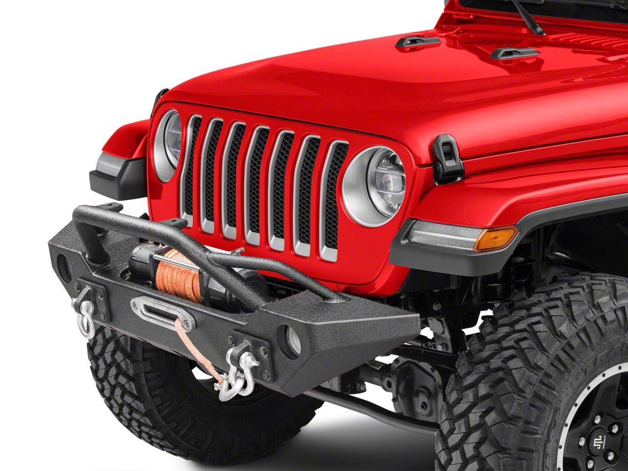 Barricade Alloy Series Aluminum Front Bumper (2018 Jeep Wrangler JL)