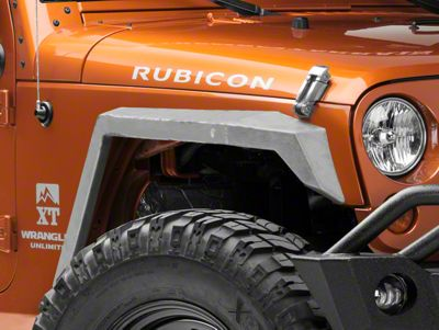 Artec Industries Nighthawk Fender Flares (07-18 Jeep Wrangler JK)