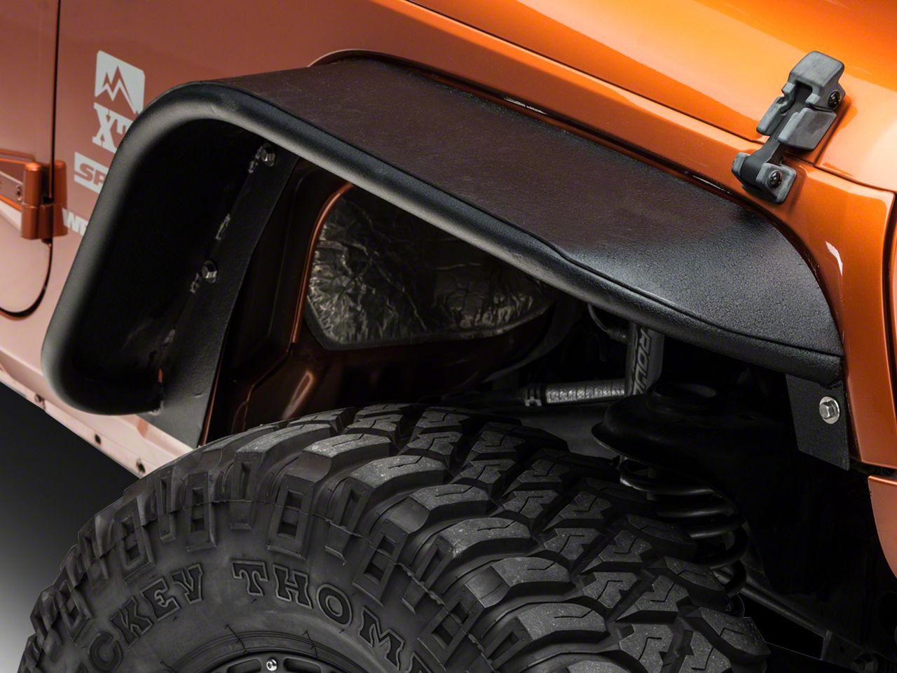 Barricade Rear Tubular Fender Flares (07-18 Jeep Wrangler JK)