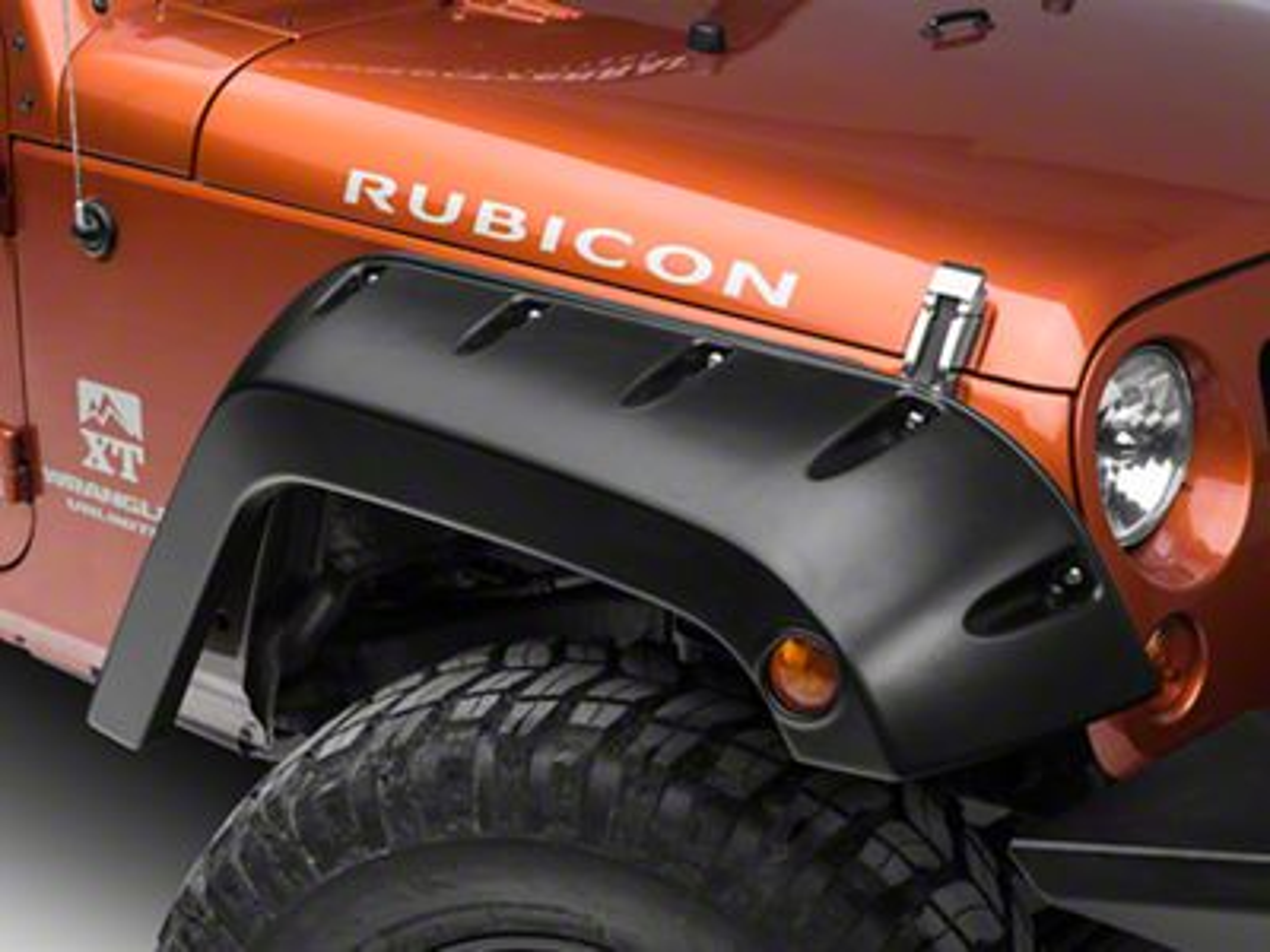 Bushwacker Factory Width Pocket Style Fender Flares (07-18 Jeep Wrangler JK)