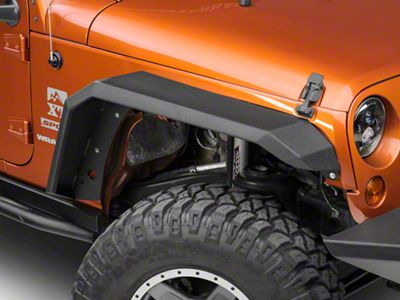 Iron Cross Fender Flares - Black (07-18 Jeep Wrangler JK)
