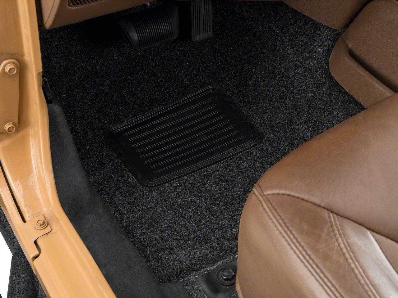 BedRug Front & Rear Floor Mats (07-18 Jeep Wrangler JK)