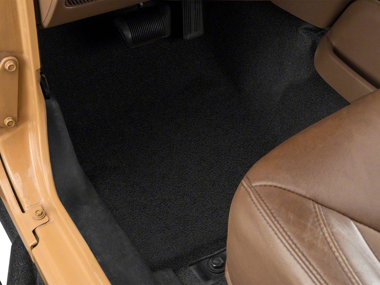 BedRug BedTred Front & Rear Floor Mats (07-18 Jeep Wrangler JK)