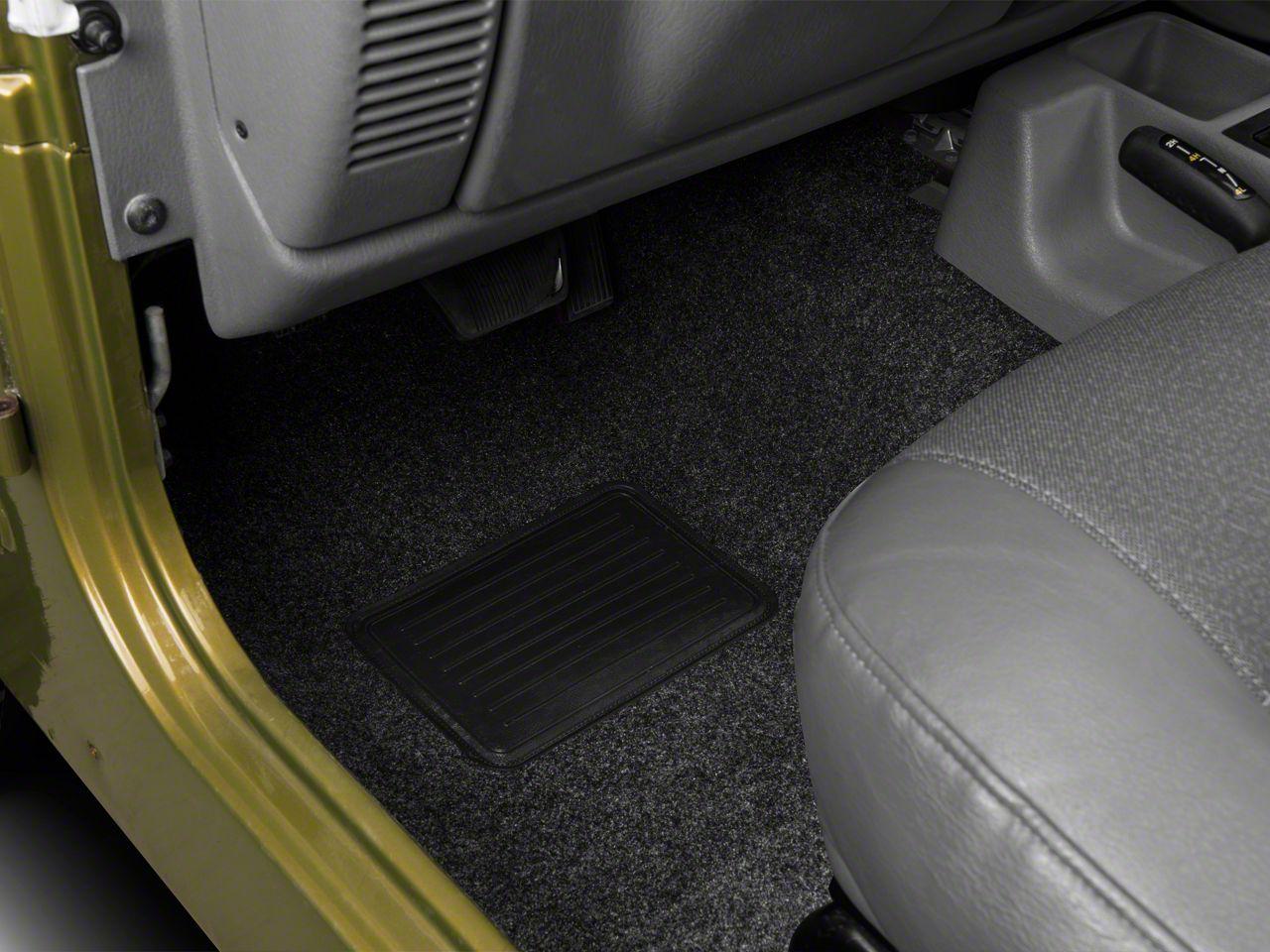 BedRug Front & Rear Floor Mats (97-06 Jeep Wrangler TJ)