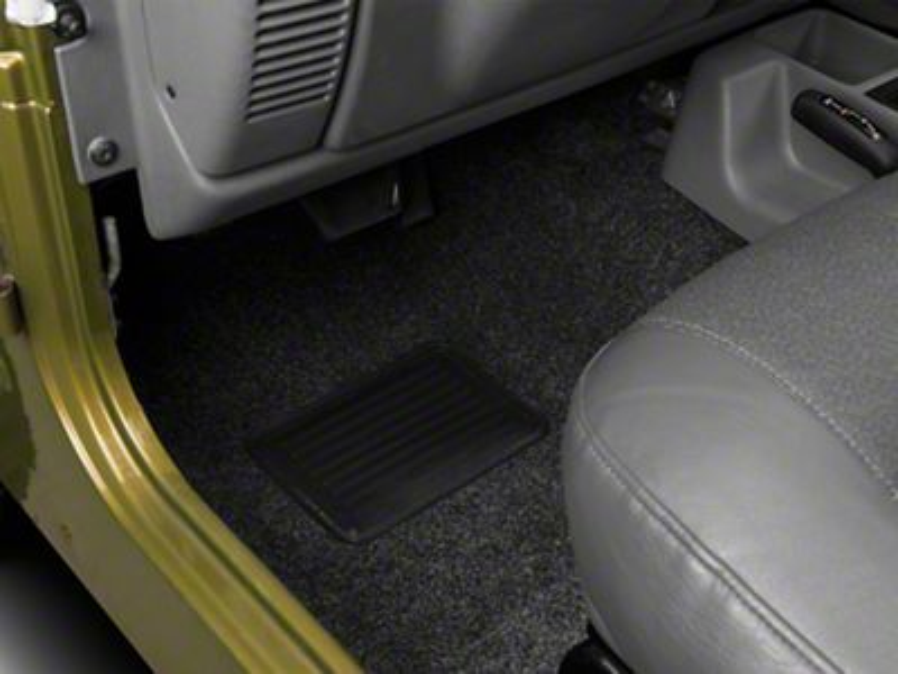 BedRug Front Floor Liners (97-06 Jeep Wrangler TJ)