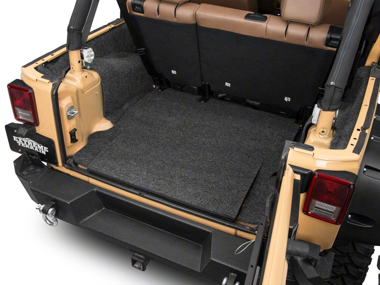 BedRug Cargo Floor Liner (07-18 Jeep Wrangler JK 4 Door)
