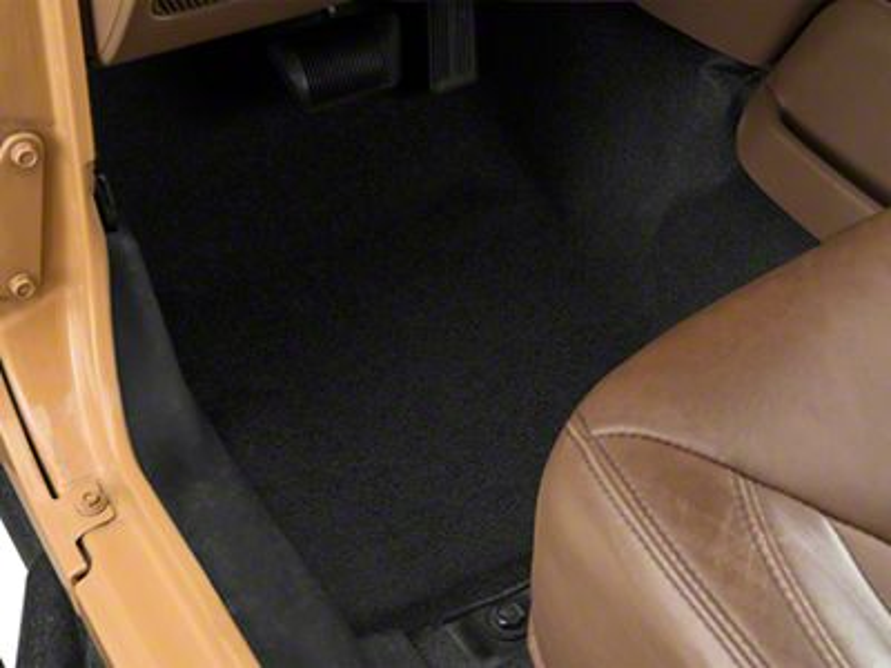 BedRug BedTred Front Floor Mats (07-18 Jeep Wrangler JK)