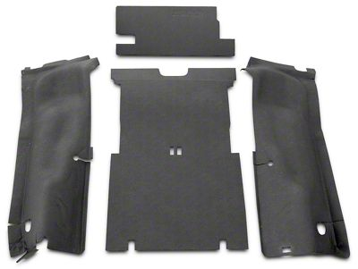 BedRug BedTred Cargo Floor Liner (04-06 Jeep Wrangler TJ Unlimited)