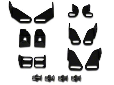 Addictive Desert Designs Universal Light Mount Kit (87-19 Jeep Wrangler YJ, TJ, JK & JL)
