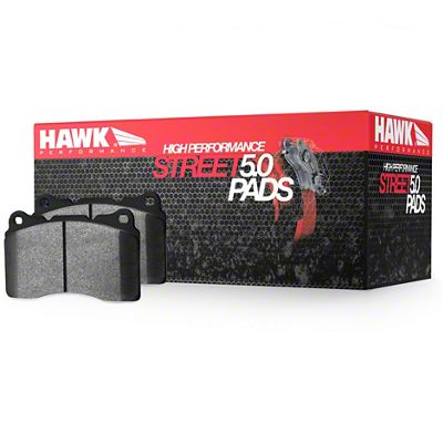 Hawk Performance HPS 5.0 Brake Pads - Front Pair (07-18 Jeep Wrangler JK)