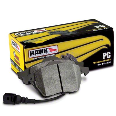 Hawk Performance Ceramic Brake Pads - Front Pair (07-15 Jeep Wrangler JK)