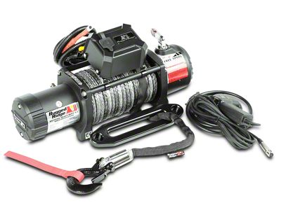 Rugged Ridge Nautic 9,500 lb. Winch w/ Synthetic Rope (87-19 Jeep Wrangler YJ, TJ, JK & JL)