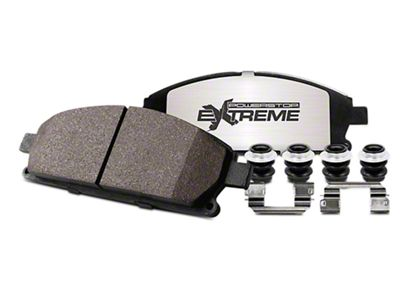 Power Stop Z36 Extreme Truck & Tow Brake Rotor & Pad Kit - Front (90-06 Jeep Wrangler YJ & TJ)