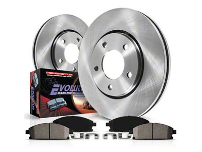 Power Stop OE Replacement Brake Rotor & Pad Kit - Front (07-18 Jeep Wrangler JK)