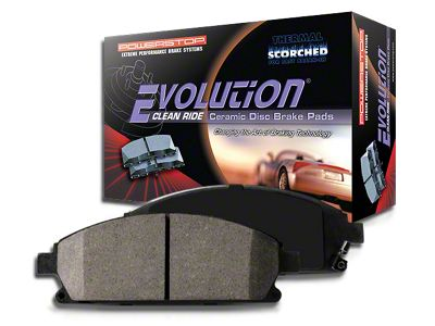 Power Stop Z16 Evolution Clean Ride Ceramic Brake Pads - Front Pair (90-06 Jeep Wrangler YJ & TJ)