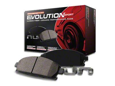 Power Stop Z23 Evolution Sport Ceramic Brake Pads - Front Pair (07-18 Jeep Wrangler JK)