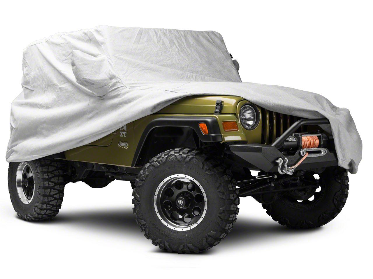 Covercraft Premium Custom-Fit Car Cover - Gray (97-06 Jeep Wrangler TJ)