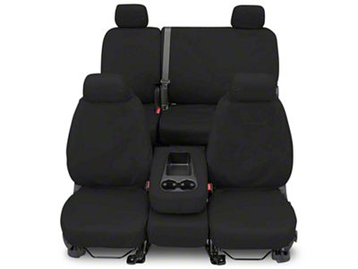 Covercraft Seat Saver Front Row Seat Covers - Charcoal (87-95 Jeep Wrangler YJ)
