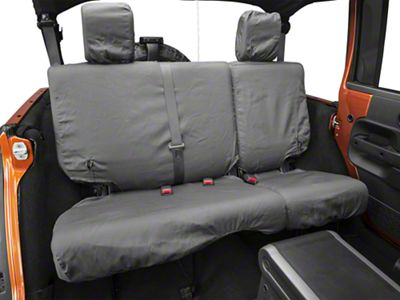 Covercraft Seat Saver 2nd Row Seat Covers - Charcoal (07-18 Jeep Wrangler JK 4 Door)