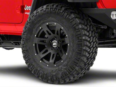 Rugged Ridge XHD Satin Black Wheel - 17x9 (18-19 Jeep Wrangler JL)