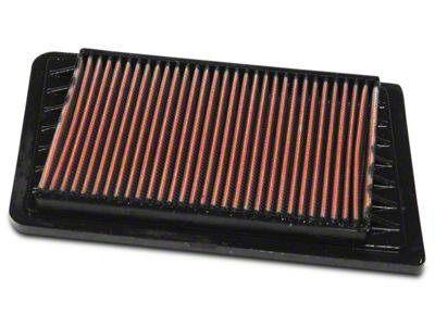 K&N Drop-In Replacement Air Filter (03-06 2.4L Jeep Wrangler TJ)