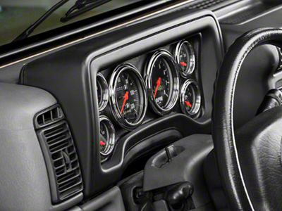Auto Meter Direct Fit Dash Gauge Panel (97-06 Jeep Wrangler TJ)
