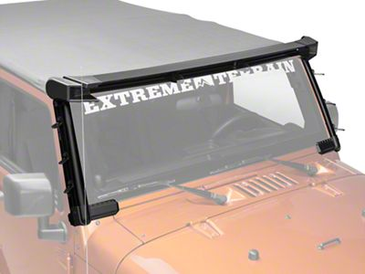 Rugged Ridge Elite Fast Track Windshield Light Bar (07-18 Jeep Wrangler JK)