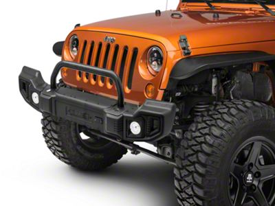 Rugged Ridge Spartacus Front & Rear Bumpers w/ Over-Rider Bar (07-18 Jeep Wrangler JK)