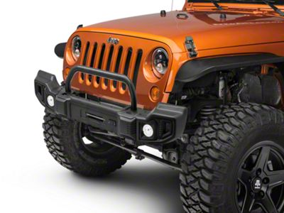 Rugged Ridge Spartacus Front & Rear Bumpers w/ Over-Rider Bar & Winch Plate (07-18 Jeep Wrangler JK)