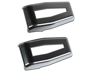 Rugged Ridge Paintable Liftgate Hinge Covers - Black (07-18 Jeep Wrangler JK)