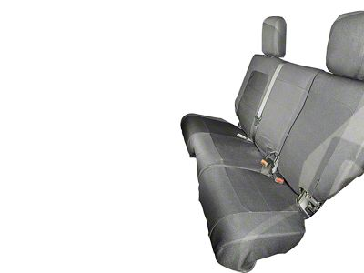 Rugged Ridge Elite Ballistic Rear Seat Cover - Black (07-18 Jeep Wrangler JK 4 Door)