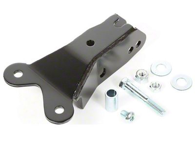 Rugged Ridge Front Track Bar Dropdown Bracket (07-18 Jeep Wrangler JK)