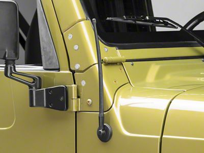 Rugged Ridge 13 in. Reflex Stubby Antenna (97-06 Jeep Wrangler TJ)
