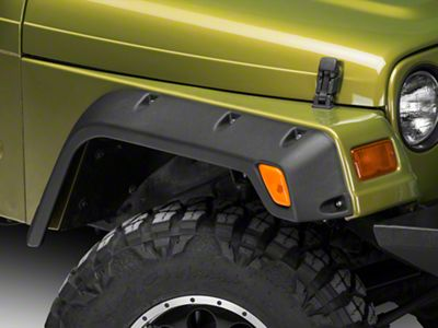 Rugged Ridge All-Terrain 4.75 in. Fender Flares (97-06 Jeep Wrangler TJ)