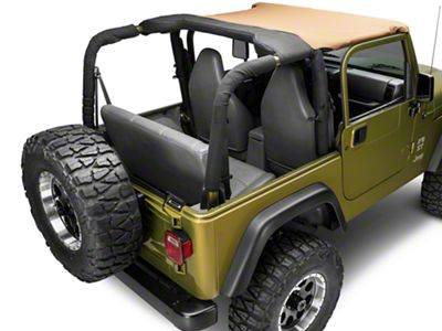 Rugged Ridge Pocket Brief Top - Spice (97-06 Jeep Wrangler TJ)