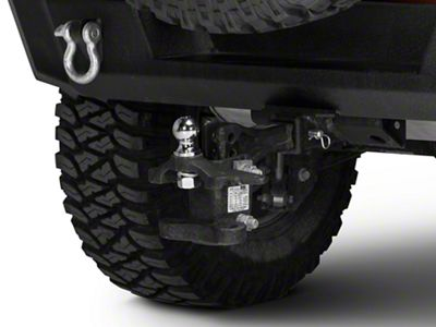 Rugged Ridge 2 in. Chrome Trailer Hitch Ball (87-18 Jeep Wrangler YJ, TJ, JK & JL)