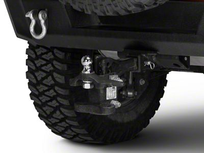 Rugged Ridge 1-7/8 in. Chrome Trailer Hitch Ball (87-18 Jeep Wrangler YJ, TJ, JK & JL)