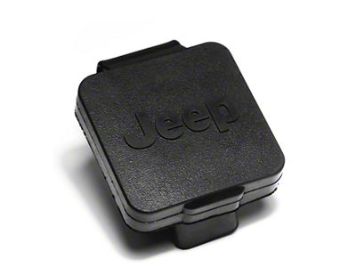 Rugged Ridge 2 in. Hitch Plug w/ Jeep Logo (87-19 Jeep Wrangler YJ, TJ, JK & JL)