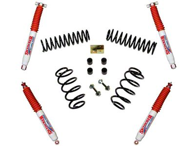 SkyJacker 2.5 in. Standard Series Suspension Lift Kit w/ Hydro Shocks (97-06 Jeep Wrangler TJ)