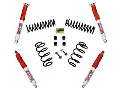 SkyJacker 3 in. Standard Series Suspension Lift Kit w/ Hydro Shocks (97-06 Jeep Wrangler TJ)