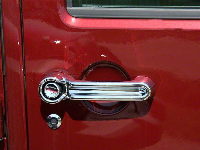 Putco Chrome Door & Tailgate Handle Covers (07-18 Jeep Wrangler JK 2 Door)