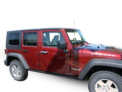 Putco Chrome Door Handle Covers (07-18 Jeep Wrangler JK 4 Door)