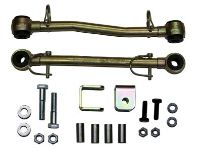 SkyJacker Front Sway Bar Extended Quick Disconnect End Links for 8 in. Lift (97-06 Jeep Wrangler TJ)
