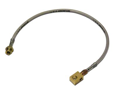 SkyJacker Rear Stainless Steel Brake Lines for 3.5-6 in. Lift (87-95 Jeep Wrangler YJ)