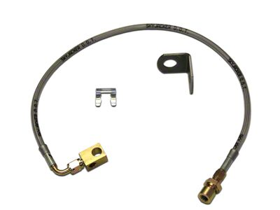 SkyJacker Rear Stainless Steel Brake Lines for 4.8 in. Lift (97-06 Jeep Wrangler TJ)