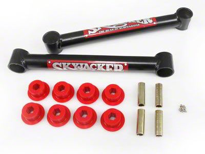 SkyJacker Single Flex Front Upper Control Arms for 2-7 in. Lift (07-18 Jeep Wrangler JK)