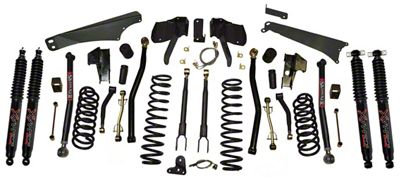 SkyJacker 4-5 in. Long Arm Suspension Lift Kit w/ Shocks (07-18 Jeep Wrangler JK)