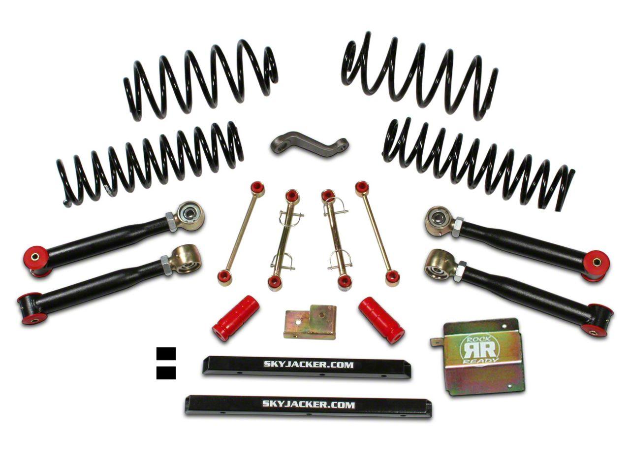 SkyJacker 4 in. Value Flex Lift Kit w/ Shocks (97-06 Jeep Wrangler TJ)
