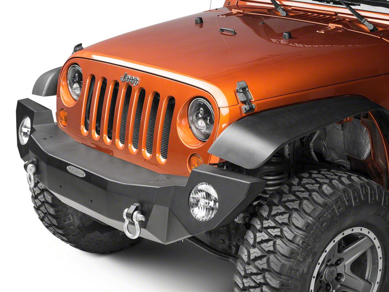 Rock-Slide Engineering Rigid Series Full Front Aluminum Bumper w/o Winch Plate (07-18 Jeep Wrangler JK)